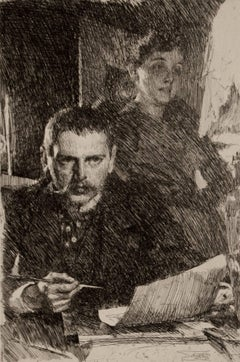 Zorn and His Wife
