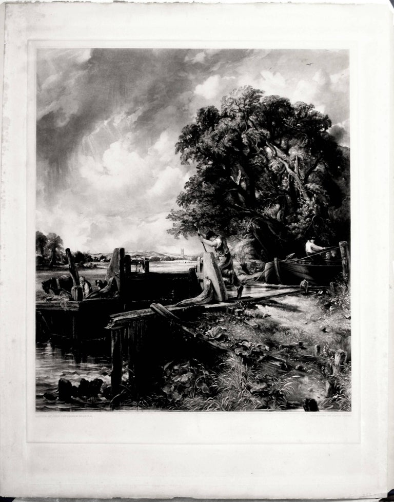 The Lock – Large Plate - Print by John Constable