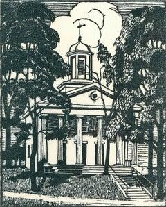 College Hall, Amherst, Massachusetts.