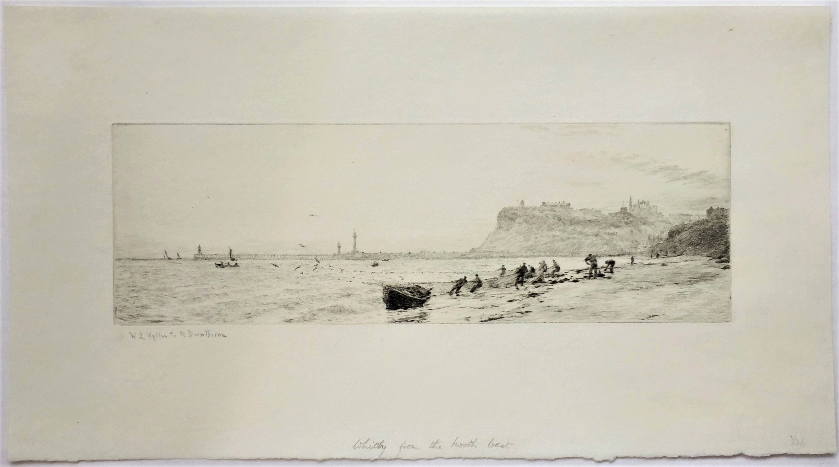 William Lionel Wyllie - Whitby from the North-West., Print For Sale ...