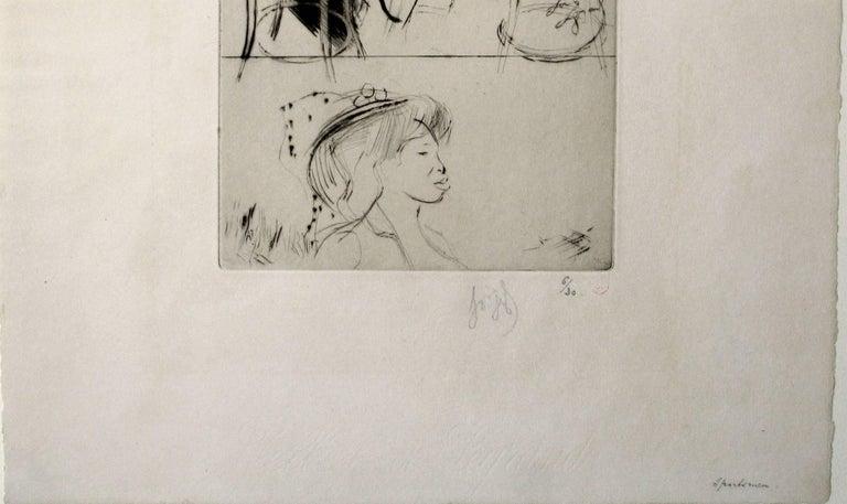 Sportsmen - Post-Impressionist Print by Louis Legrand