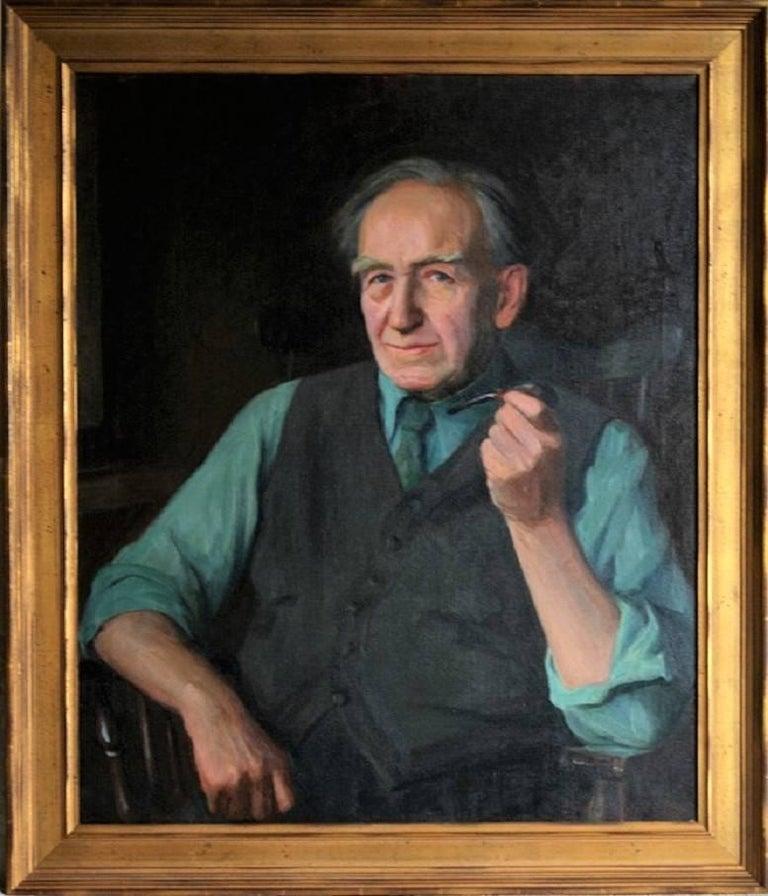 Alphaeus Philemon Cole - Portrait of Eugene Higgins, Age 80. 1