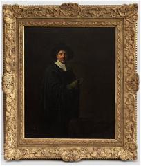 Self-Portrait in Seventeenth-Century Dutch Costume. [Hommage to Rembrandt].