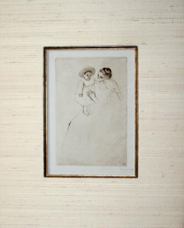 mary cassatt looking into the hand mirror no3 print for sale at 1stdibs fancy hand mirror94 mirror