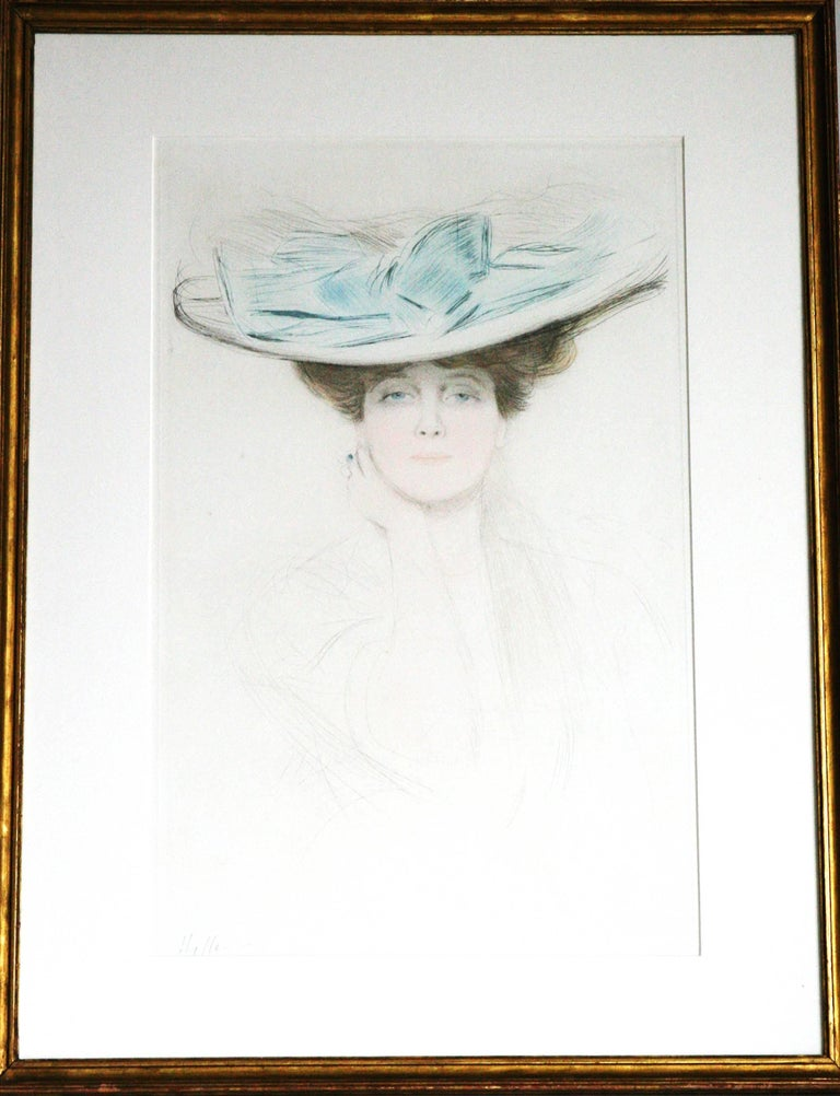 Le Noeud Bleu (The Hat with the Blue Bow).