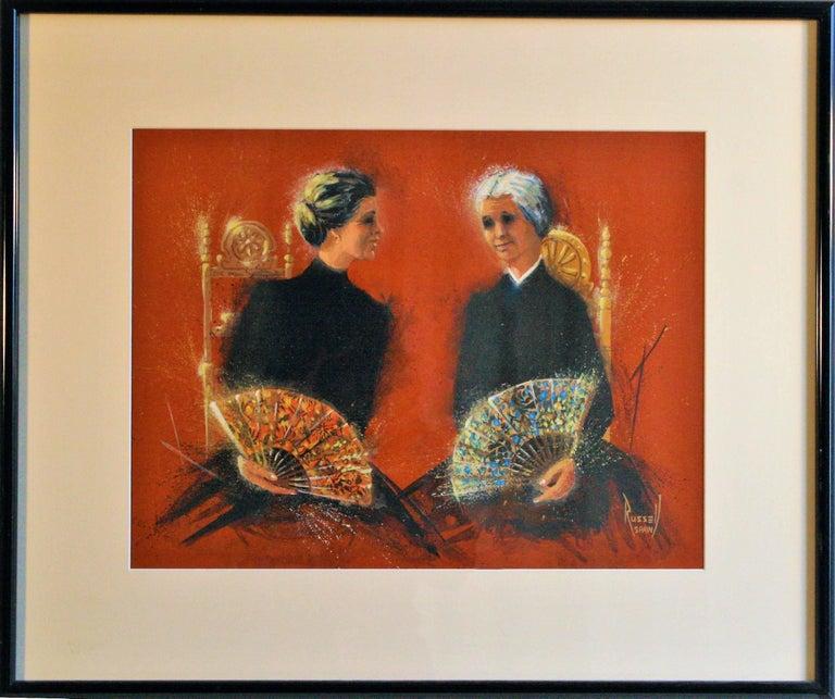 Donn Russell Portrait - Two Dueñas.
