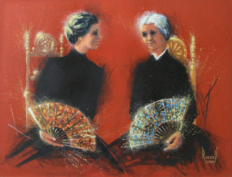 Two Dueñas. - Art by Donn Russell