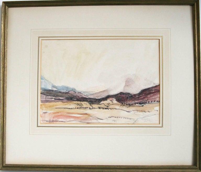David Young Cameron Landscape Art - Glen Orchy.