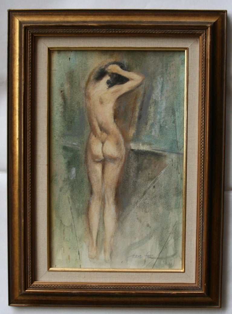 Harve Stein Nude - After the Bath