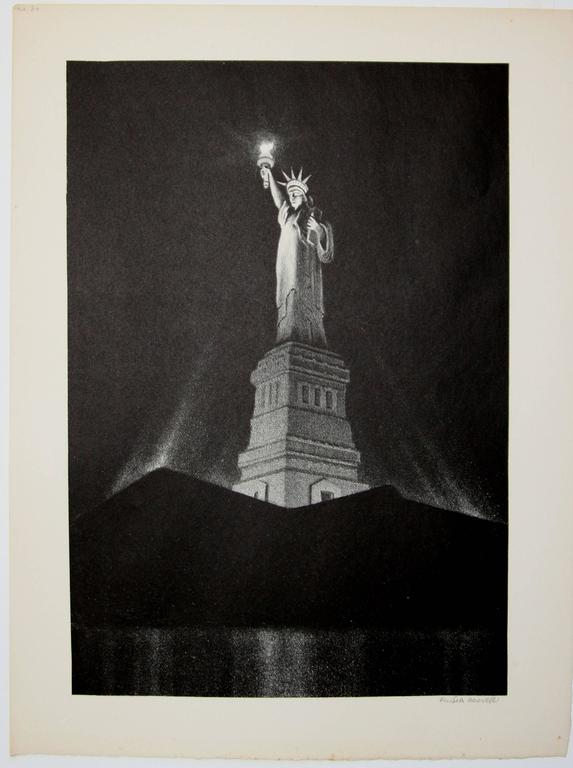 Liberty: The Statue of Liberty - Print by Ellison Hoover