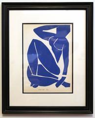 Seated Blue Nude 3
