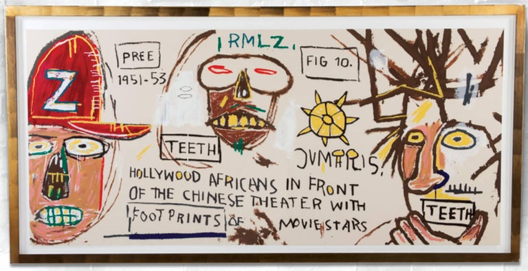 Basquiat Hollywood Africans (after) Jean-Michel Ba...