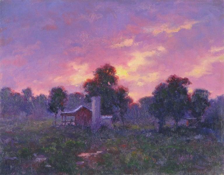 John Sills Landscape Painting - Sunset