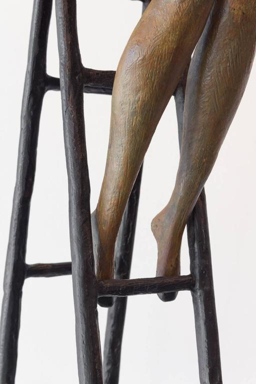 Reaching Out - Contemporary Sculpture by Tolla Inbar