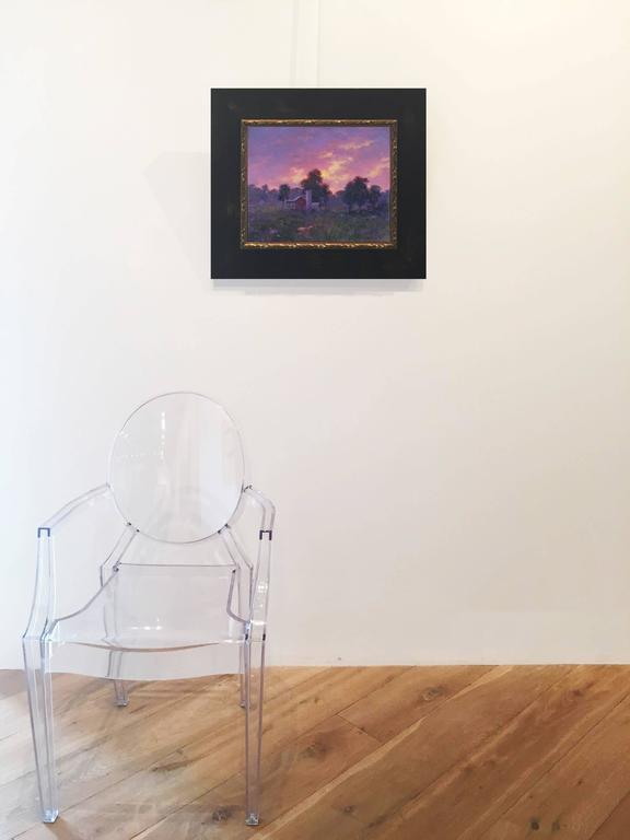 Sunset - Contemporary Painting by John Sills