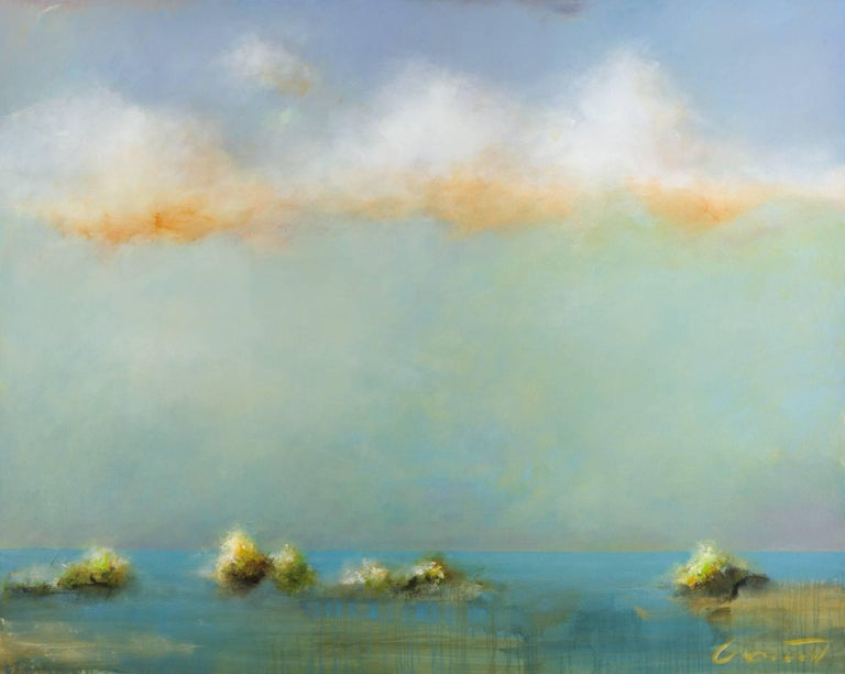 Eric Abrecht Abstract Painting - Morning Return