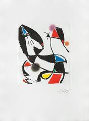 Joan Miró - Les Montagnards VII