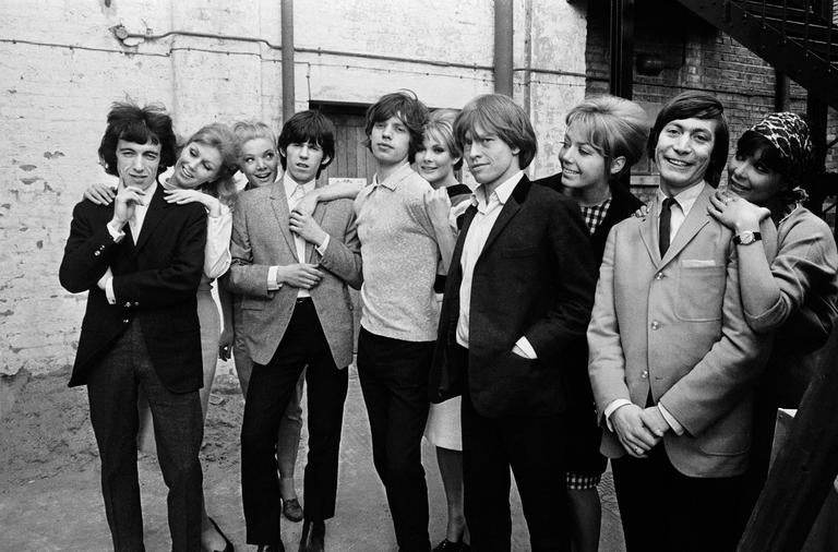 Terry O Neill The Rolling Stones 1964 Photograph For