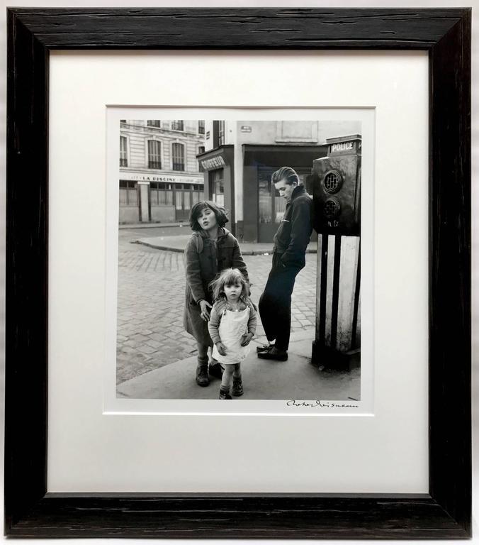 Les Enfants de la Place Hébert - Photograph by Robert Doisneau