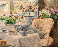 The Tea Table, Knudsminde Farm