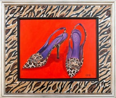 'Faux Leopard Marciano Pumps', Italian Fashion Shoes