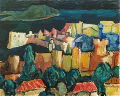Post-Impressionist Harbor