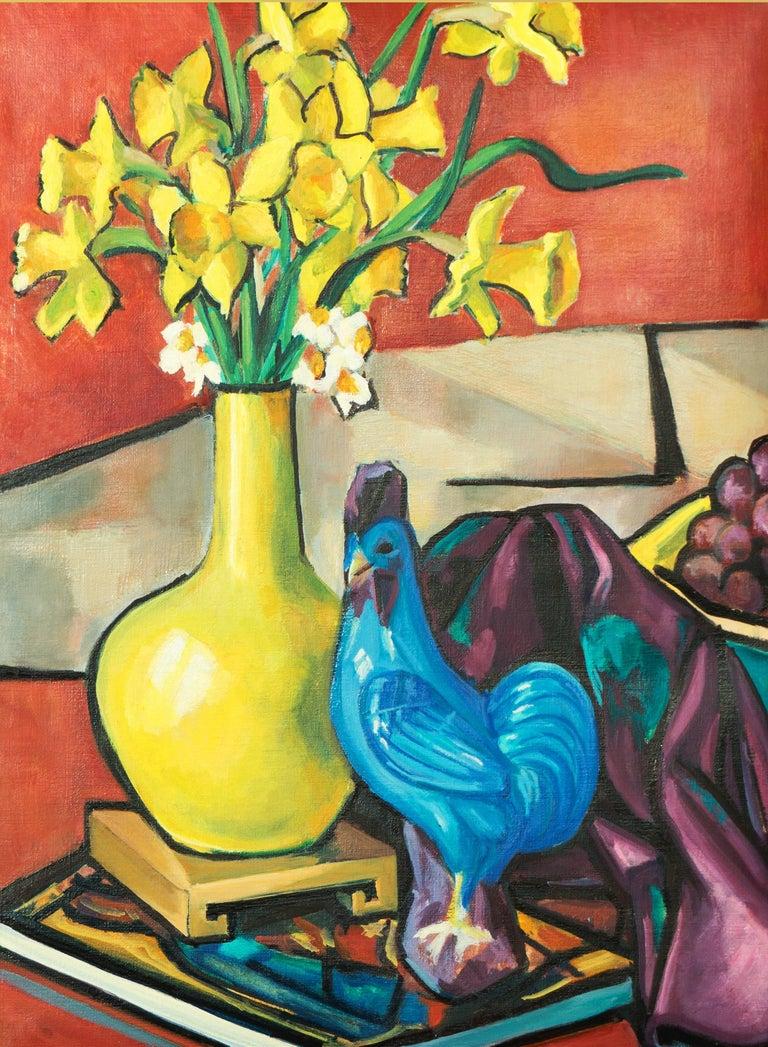 Virginia Sevier Rogers Still-Life Painting - Still Life of Daffodils