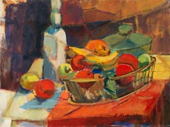 'Still Life of Fruit', California woman artist