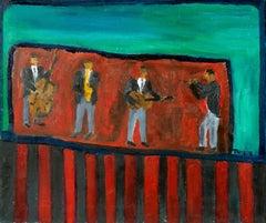 'Jazz Quartet', Santa Cruz, California Modernist