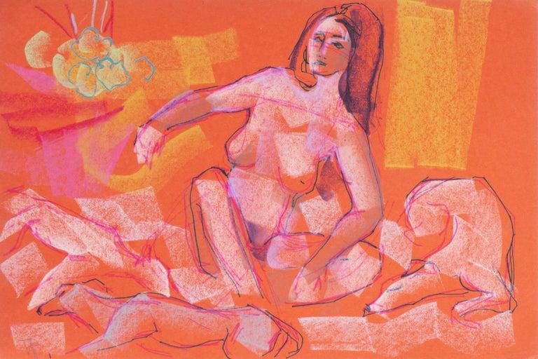 Virginia Sevier Rogers Figurative Art - Diana Seated
