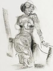 Young Woman Kneeling