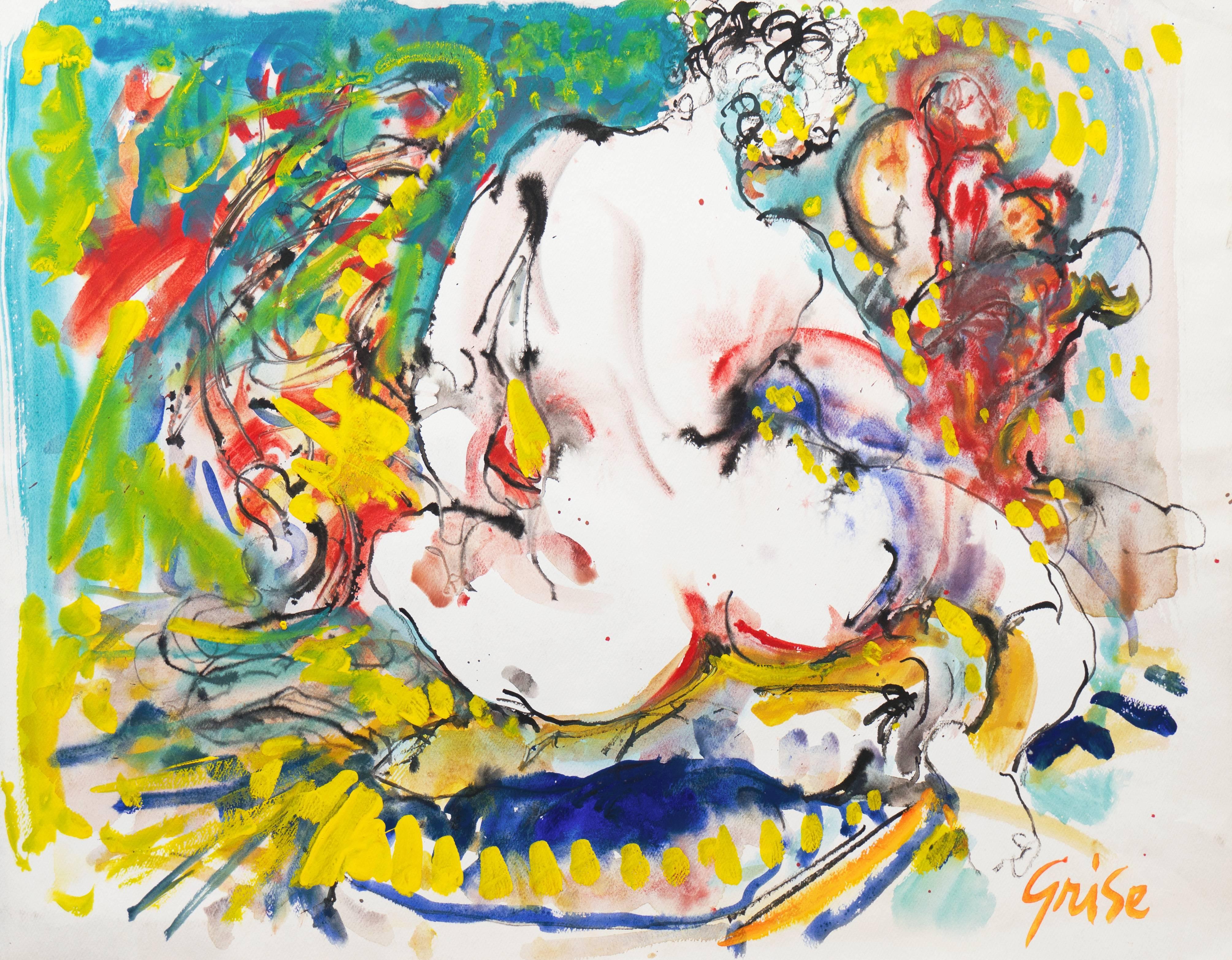 'Seated Nude', Art Institute of Chicago, California Expressionist