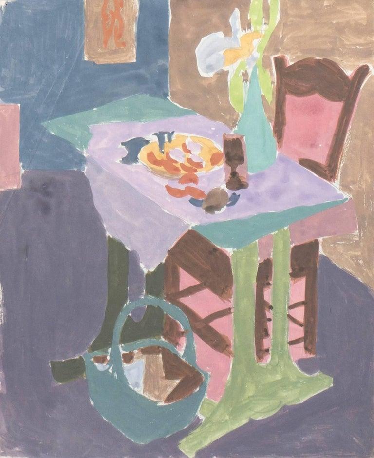Victor Di Gesu Interior Painting - California Post-Impressionist 'Still Life', Louvre, LACMA, Académie Chaumière