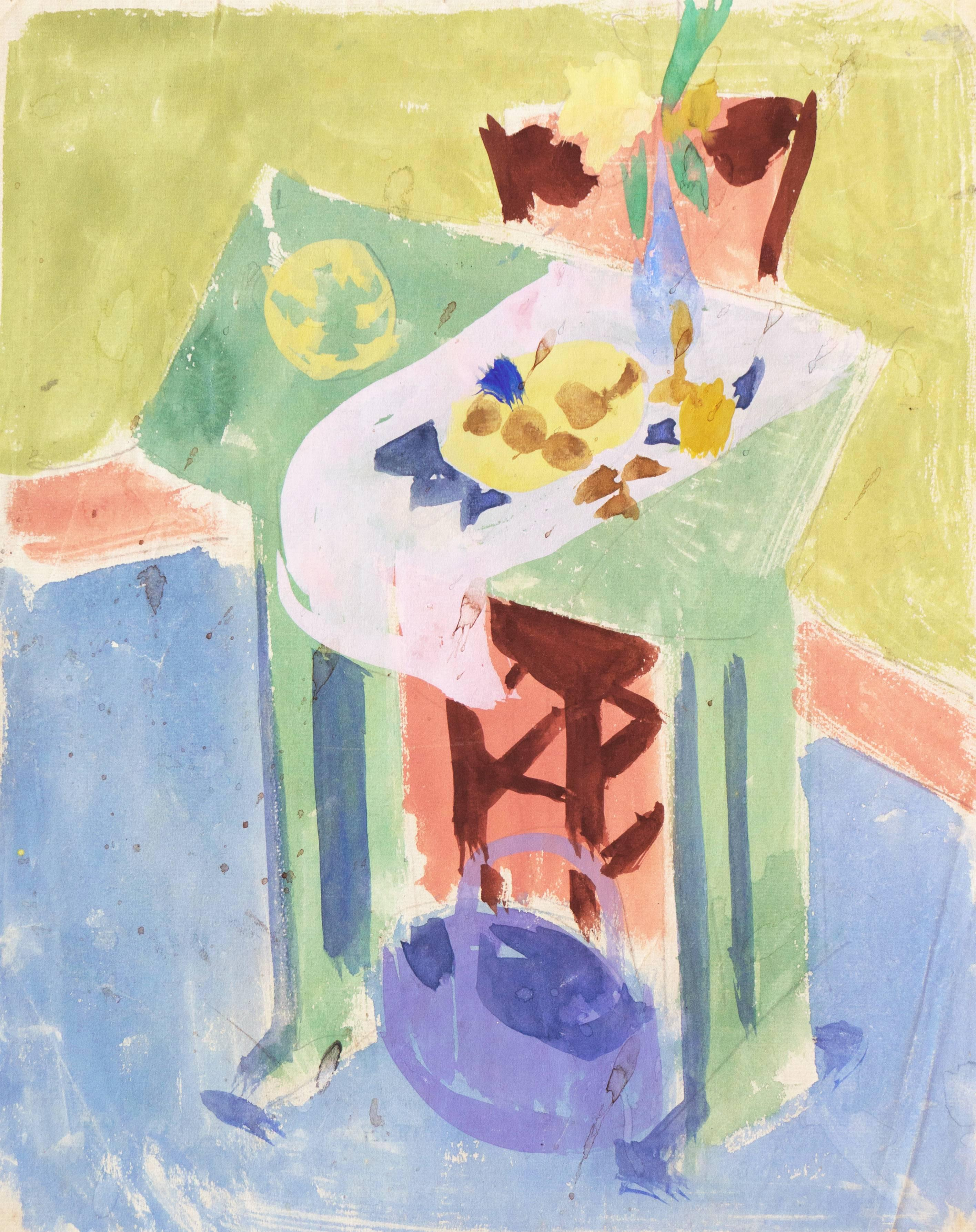 'Still Life', California Post-Impressionist, Louvre, Académie Chaumière, LACMA