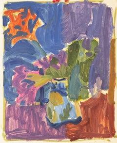 'Still Life of Flowers', Paris, Louvre, Grande Chaumiere, Carmel, LACMA, SFAA,