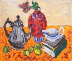 'Still Life with Teapot', Salon d'Automne, Paris, Danish Post-Impressionist oil
