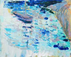 Fishing Boat Off Carmel   (Monterey, Big Sur, California, Post-Impressionism)