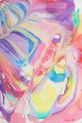 'Organic Abstract', Large oil by San Francisco artist, Bay Area Abstraction
