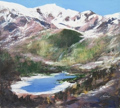 French Post-Impressionist, 'The Alps, Chamonix and Mont Blanc', Marin Exhibition