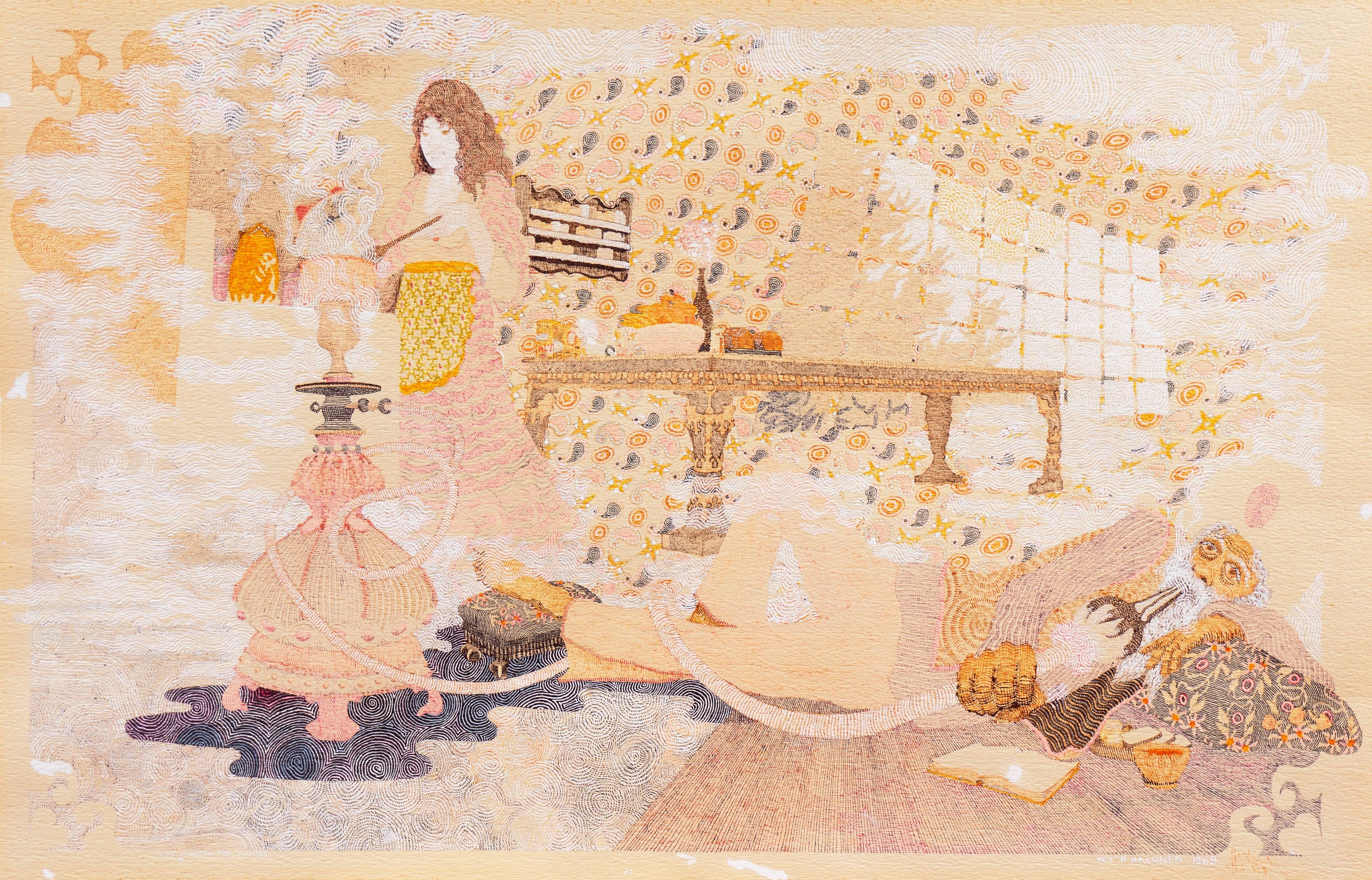 'Life Among the Clouds', Hookah, Persian, Indian, Sufi, Hashish