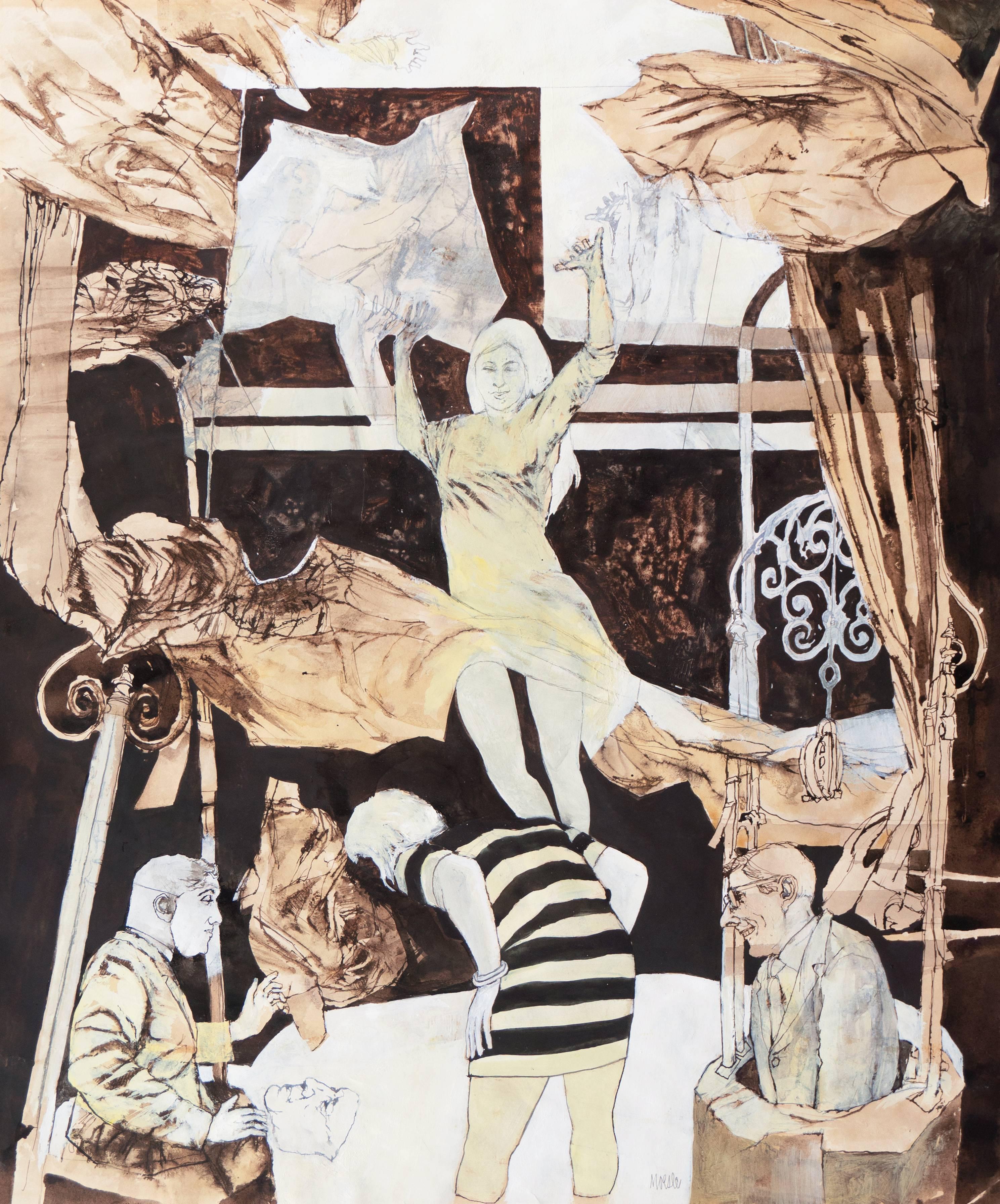 'Dynamic Figurative', California Post-Impressionist, Ruskin School of Art