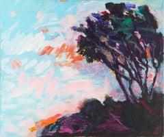 'Laguna Hills', Post-Impressionist California Landscape