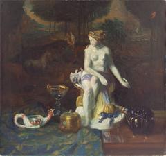 Still Life with Figure of Venus