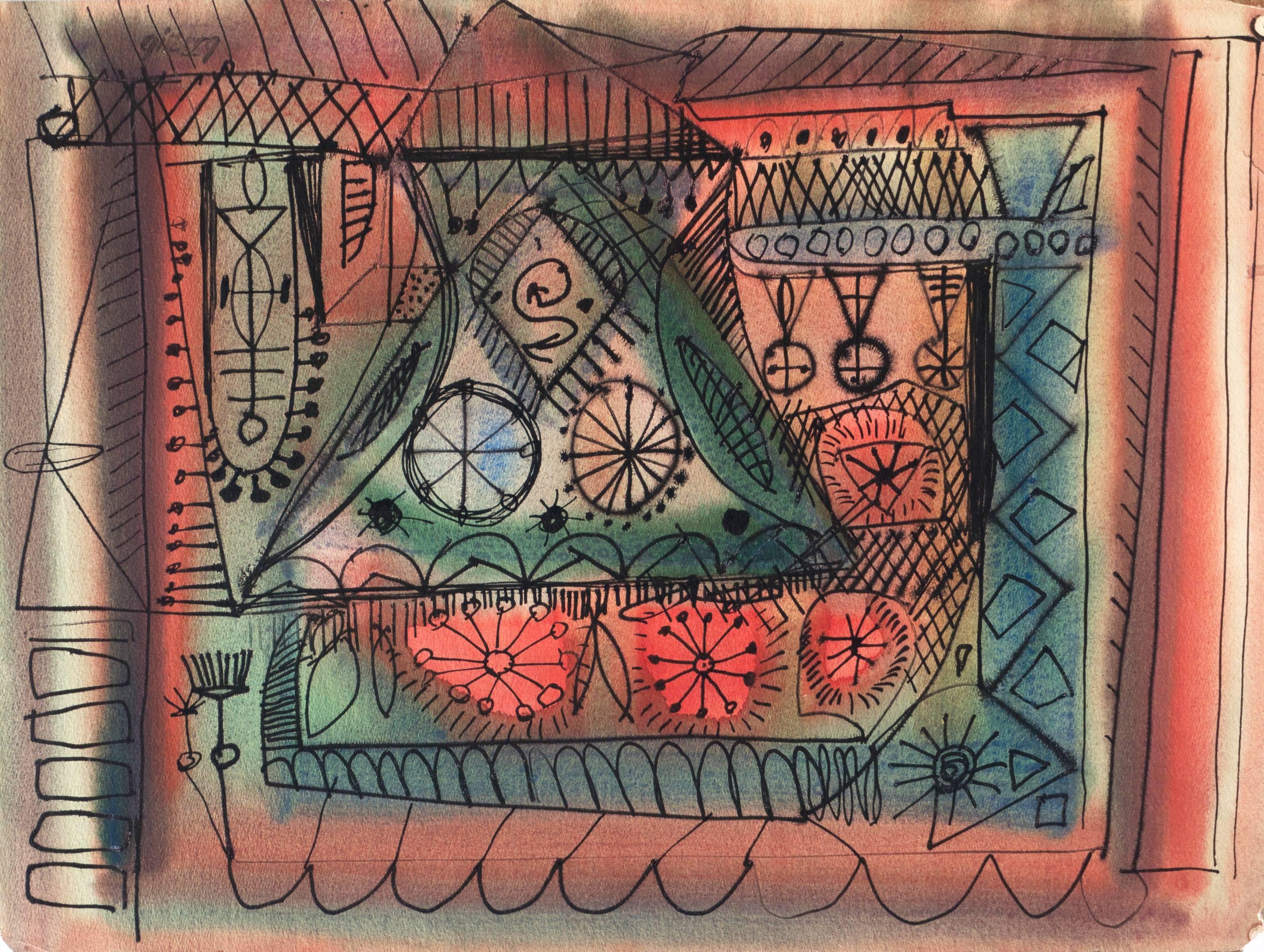 'Dynamic Abstract', California San Francisco Bay Area Modernism, Thiebaud