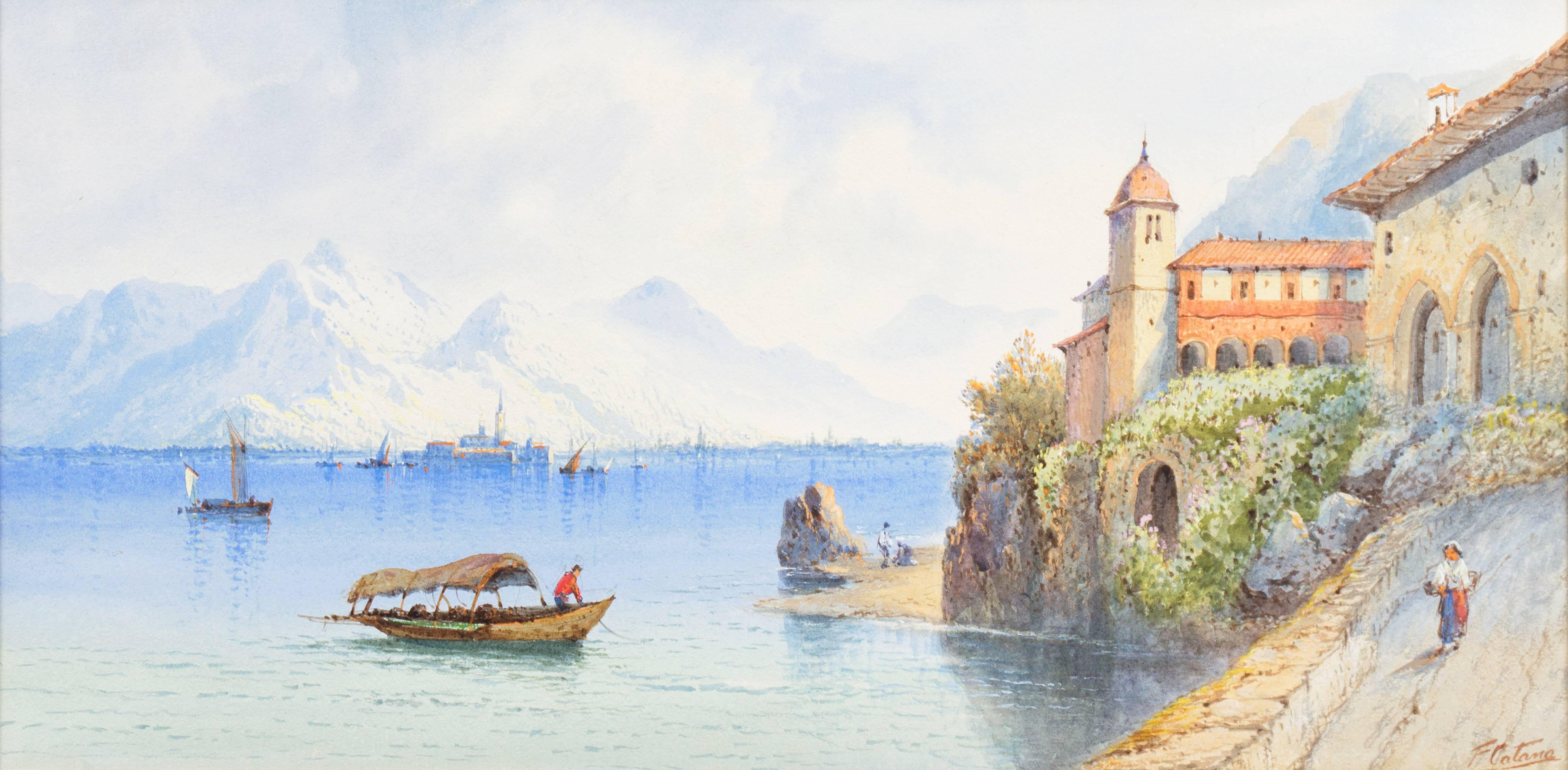View of Lake Como, Italy