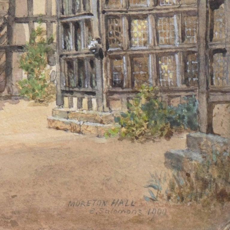 'Little Moreton Hall, Cheshire, England', Tudor Architecture, National Gallery - Art by Edward Salomons
