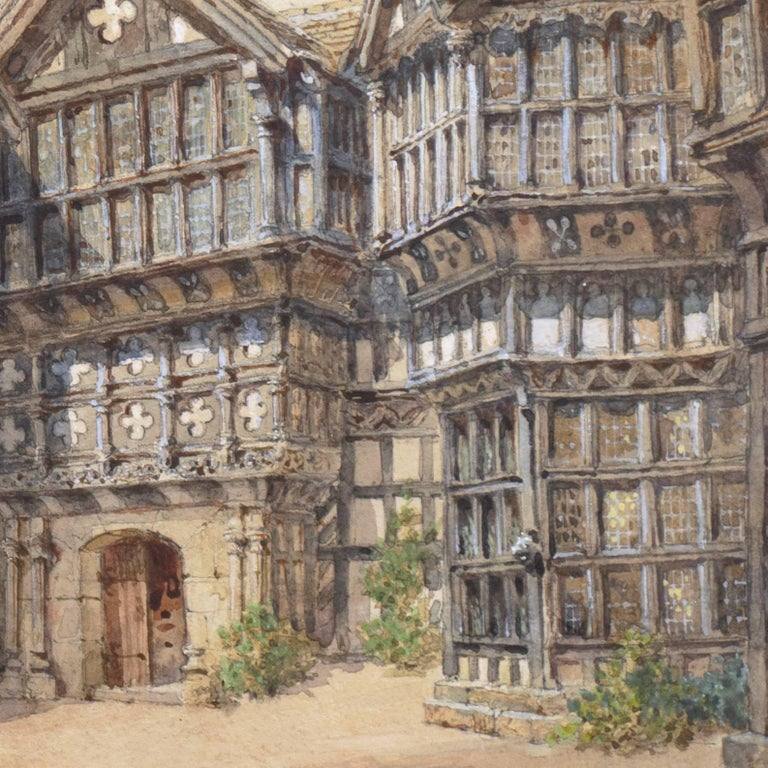 'Little Moreton Hall, Cheshire, England', Tudor Architecture, National Gallery For Sale 1