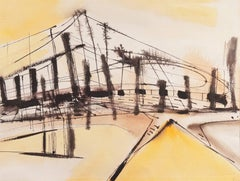 Musical Bridge Abstract Composition, Smithsonian and Jewish Museum, Woman Artist