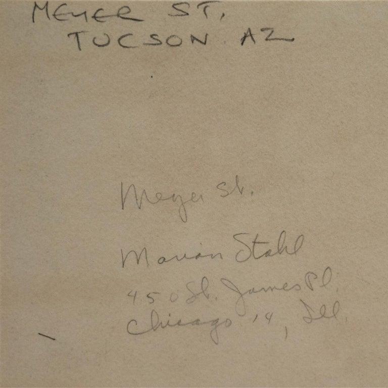 'In the Shade of La Casa Cordova, Tucson', Meyer Street, Arizona For Sale 3
