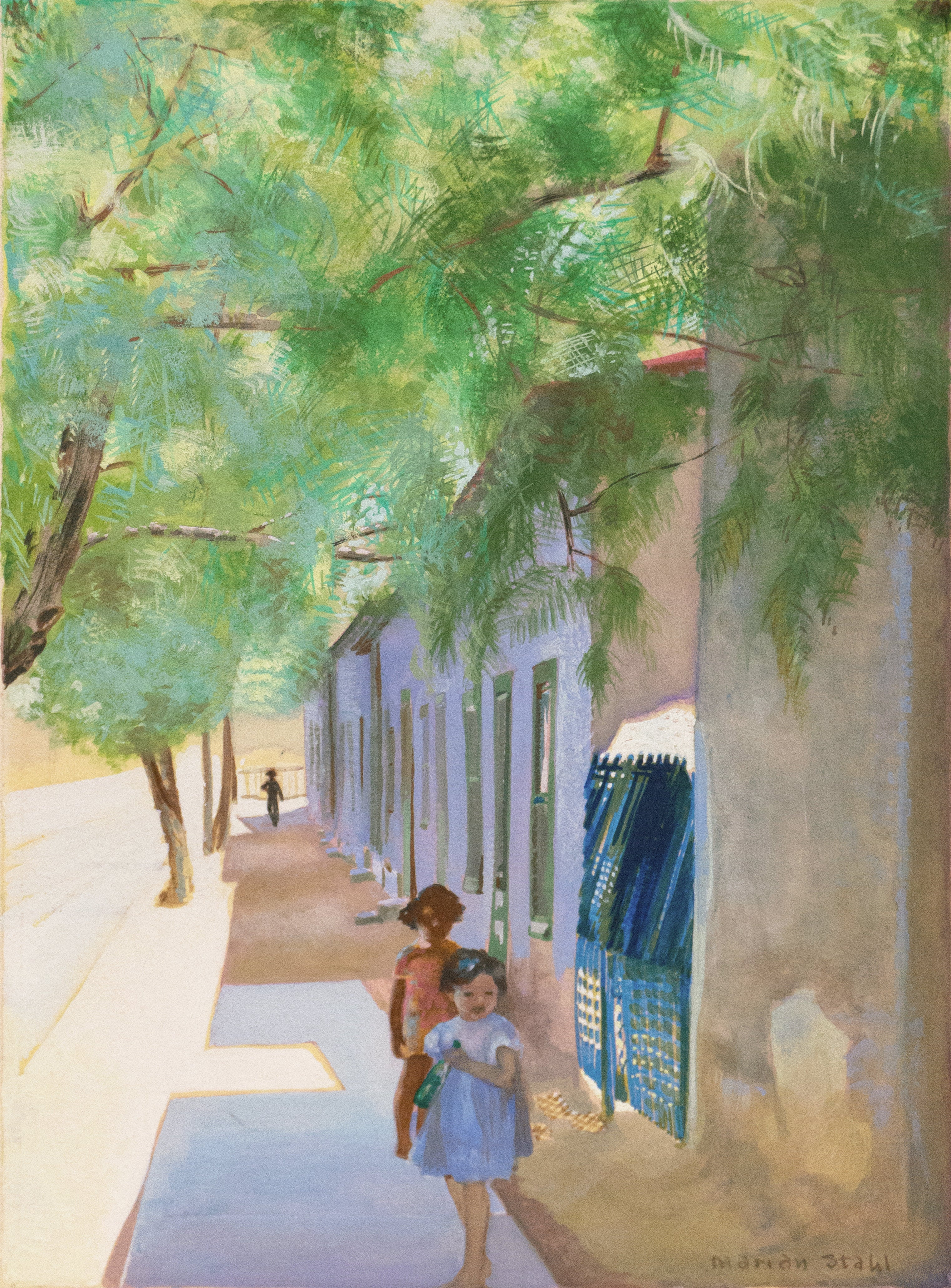'In the Shade of La Casa Cordova, Tucson', Meyer Street, Arizona